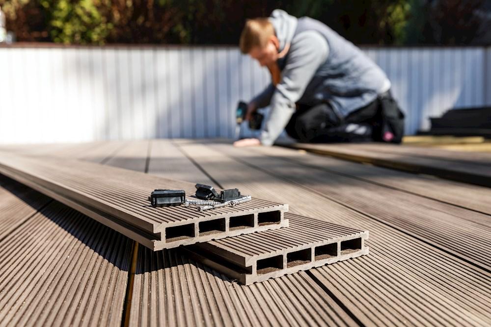 Terrasse einbauen